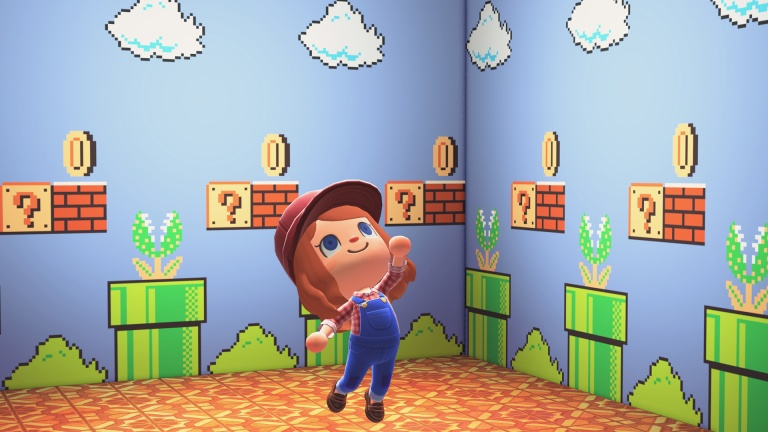 Animal Crossing New Horizons How To, Super Mario Furniture Animal Crossing
