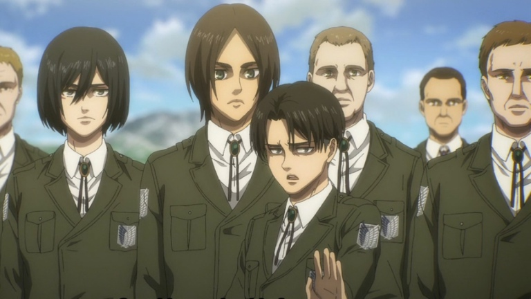 Attack On Titan Season 4 Episode 10 Eldian Scouts