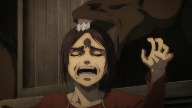 Attack on Titan Season 4 Episode 11 Gabe and a Horse