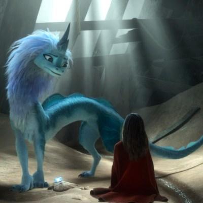 Awkwafina as Sisu in Disney's Raya and the Last Dragon