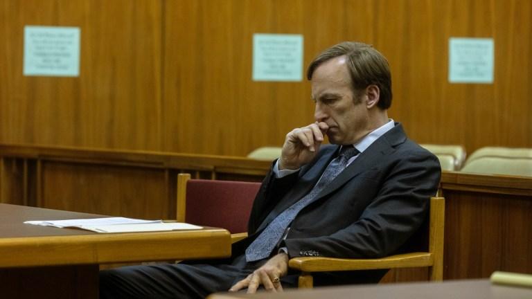 Bob Odenkirk as Jimmy McGill in Better Call Saul season 5