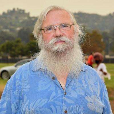 El nómada estadounidense Bob Wells de Nomadland Fame