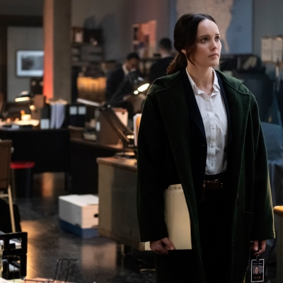 Clarice Starling (Rebeccea Breeds) in CBS's Clarice
