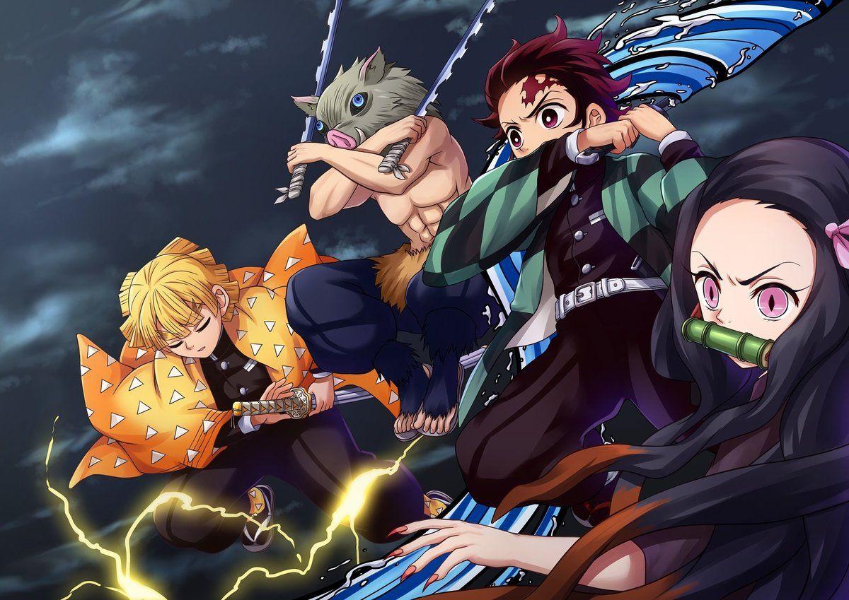 Demon Slayer: Kimetsu no Yaiba - Breaking Down Every Sword Color   Den of  Geek