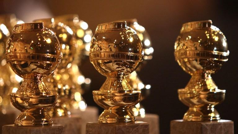 The new modern Golden Globes design