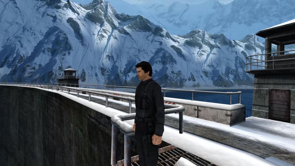 GoldenEye 007 Dam Sequence