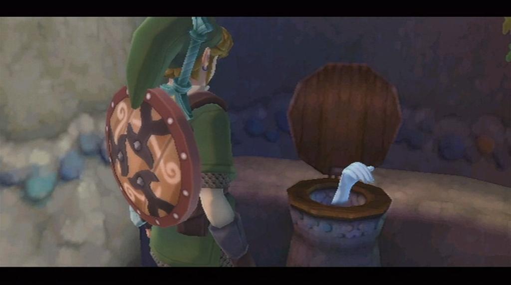The Legend of Zelda Toilet Hand