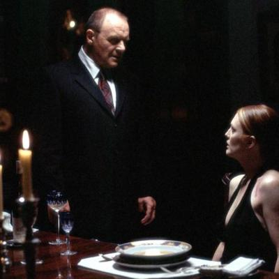 Hannibal Lecter and Clarice Starling at Brain Dinner