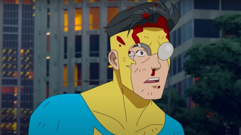 Mark Grayson (Steven Yeun) in Invincible