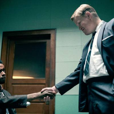 Jesse Plemons and LaKeith Stanfield Shake Hands in Judas and the Black Messiah
