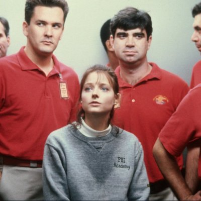 Jodie Foster as Clarice Starling in Silence of the Lambs Elevator Scene