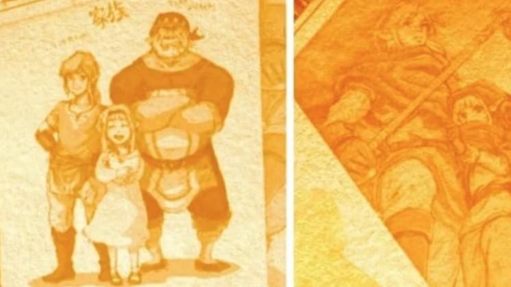 Link's Parents Legend of Zelda