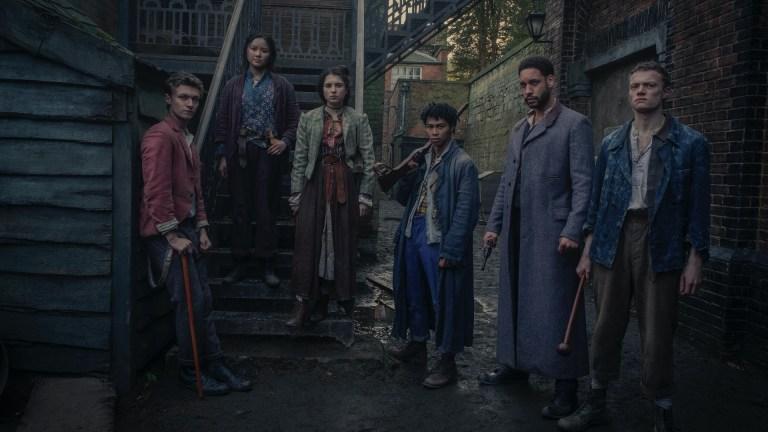 Cast of The Irregulars on Netflix
