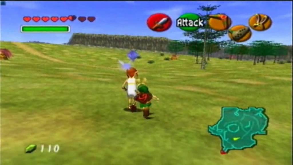 Running Man Legend of Zelda