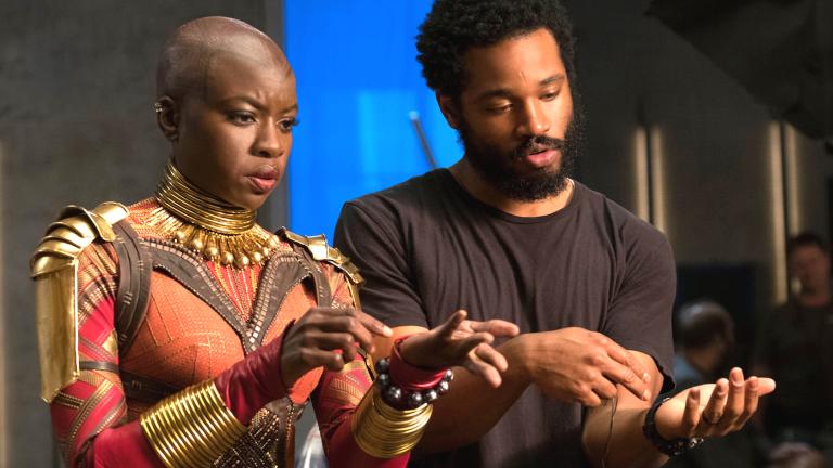 Ryan Coogler on Black Panther Set