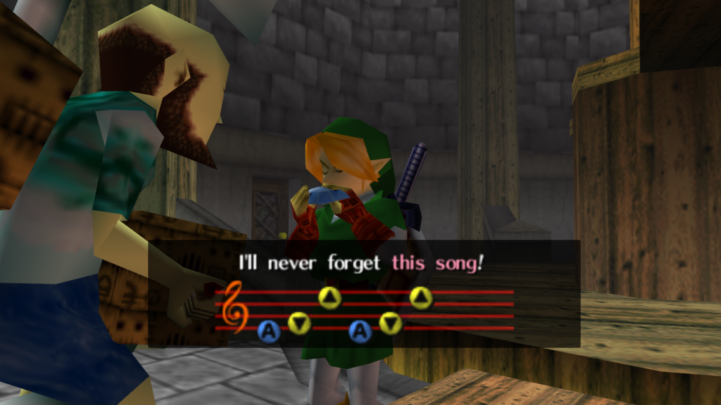 Song of Storms Ocarina of Time