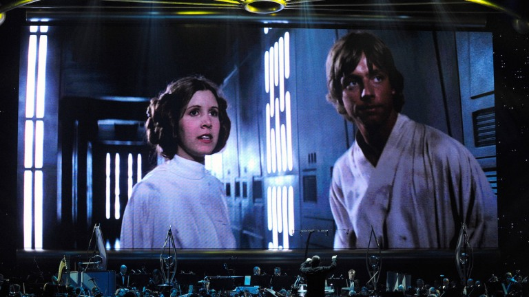 Musicians Perform Star Wars in Concert in Las Vegas