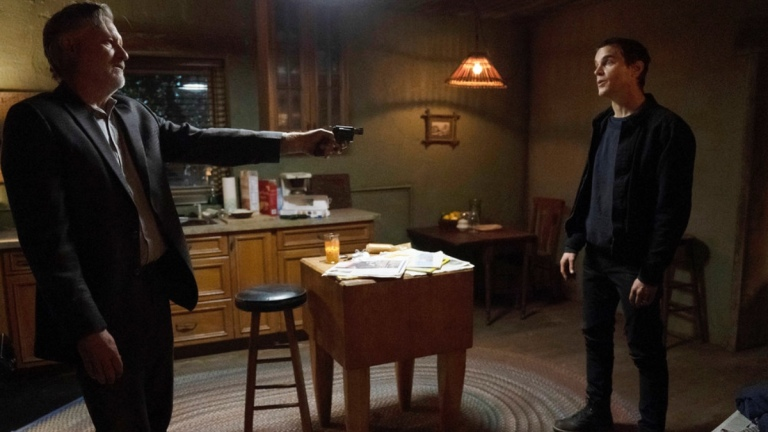 Bill Pullman and Matt Bomer in The Sinner season 3