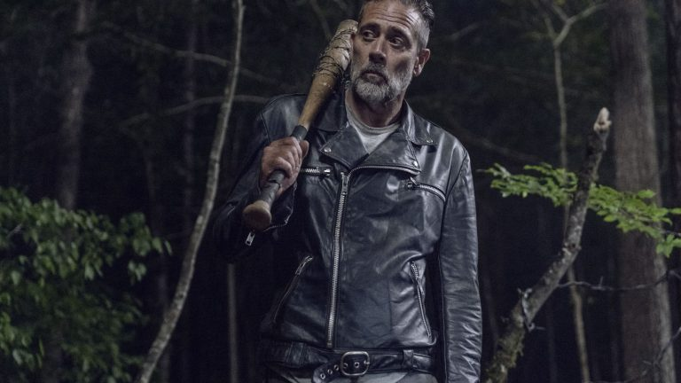 Negan and Lucille on The Walking Dead
