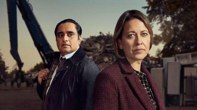 Unforgotten Series 4 Cassie and Sunny Nicola Walker and Sanjeev Bhaskar