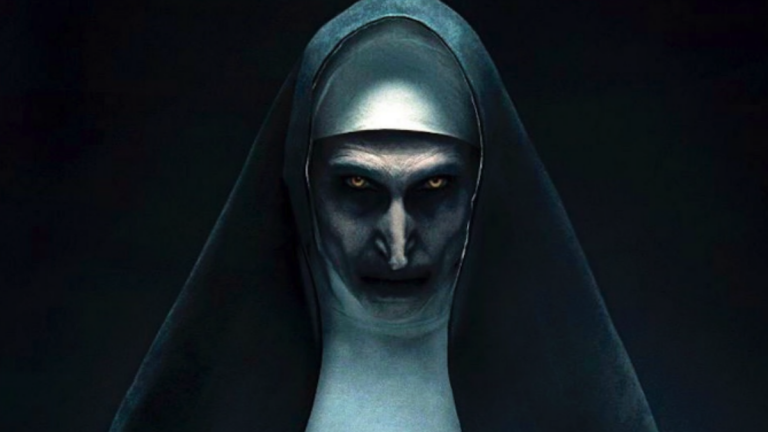 Valak as the Nun in The Conjuring Movies