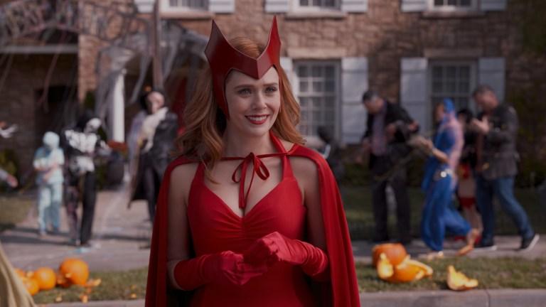 Elizabeth Olsen as Wanda Maximoff in WandaVision