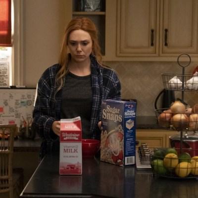 Elizabeth Olsen as Wanda in WandaVision episode 7