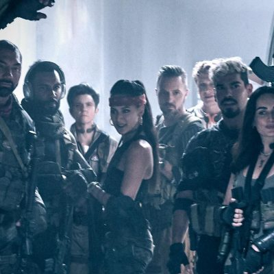Dave Bautista and the rest of the Army of the Dead cast