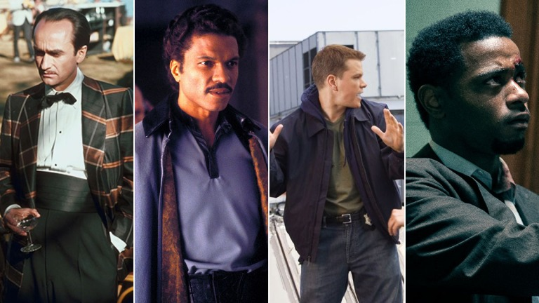 Series of movie traitors including Fredo Corleone, Lando Calrissian, and William O'Neal