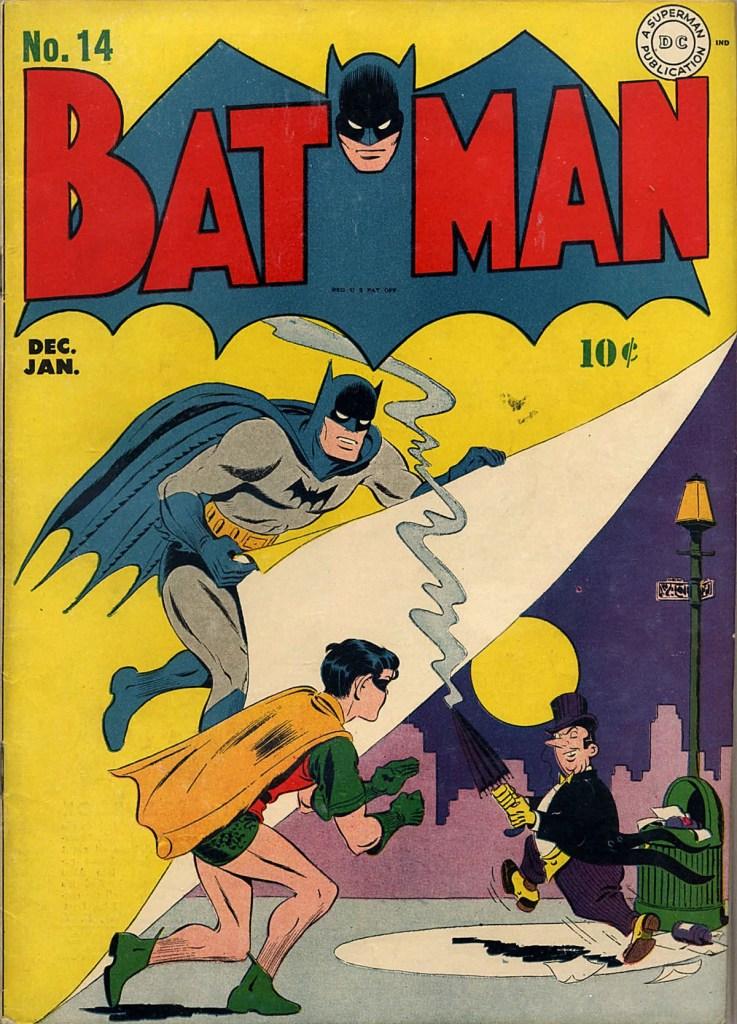 Portada de Batman # 14 (1942)