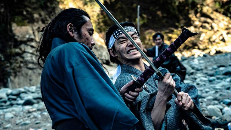 Tak Sakaguchi as Musash in Crazy Samurai: 400 vs. 1