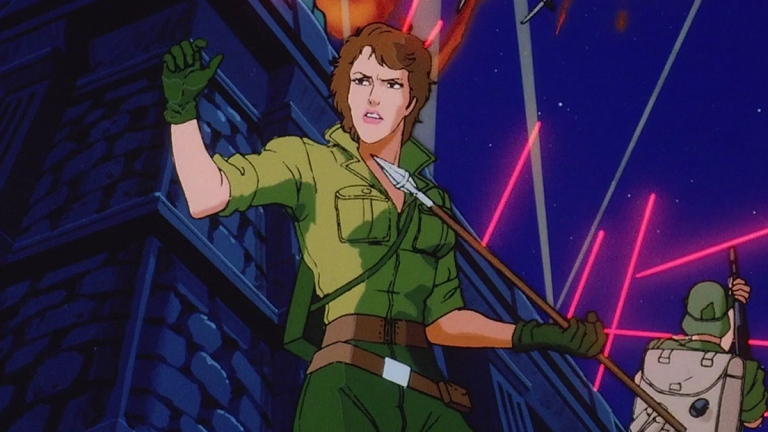 Lady Jaye on G.I. Joe: A Real American Hero