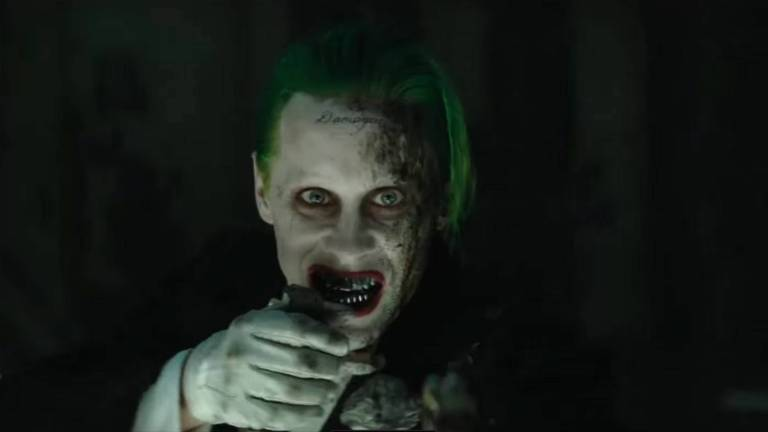 Jared Leto as the Joker in Suicide Squad (2016)