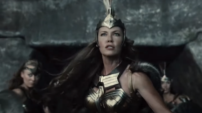 Connie Nielsen as Hippolyta in Zack Snyder's Justice League