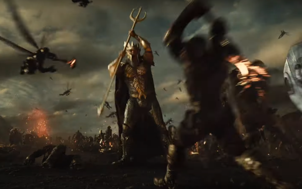 King of Atlantis in Zack Snyder's Justice League