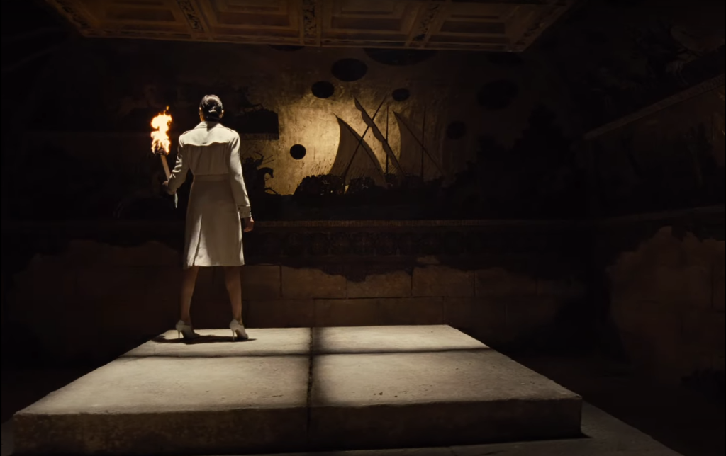Diana inside the temple in Zack Snyder's Justice League