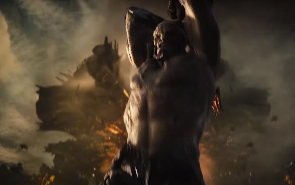 Shirtless Darkseid in Zack Snyder's Justice League