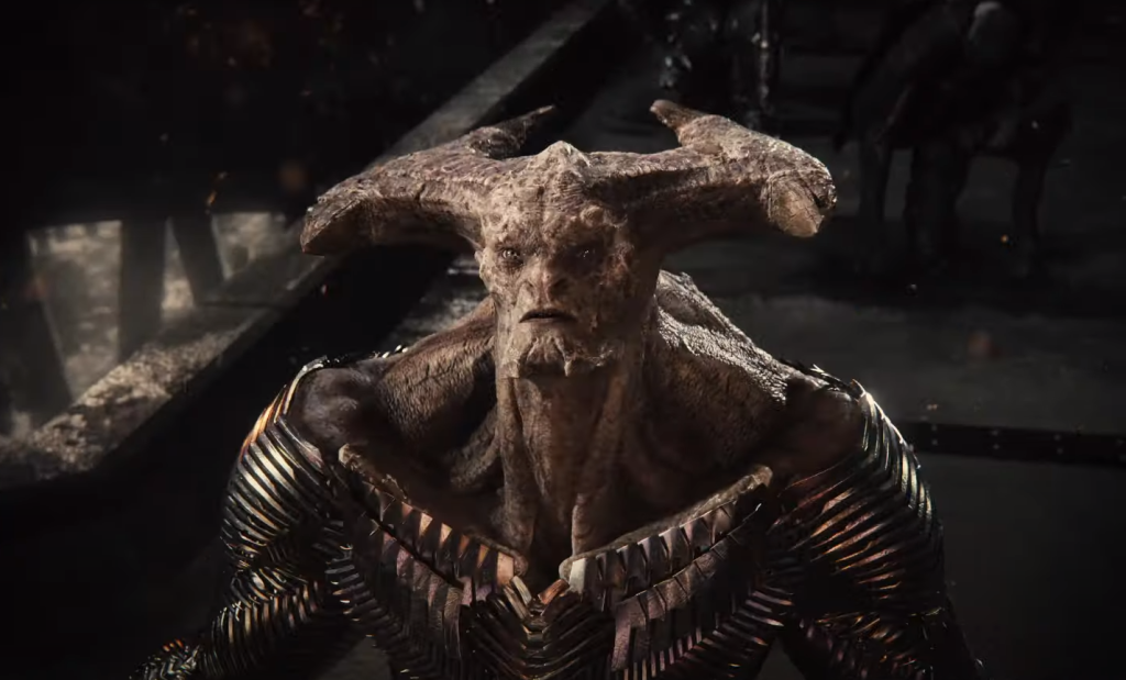 Steppenwolf unmasked in Zack Snyder's Justice League