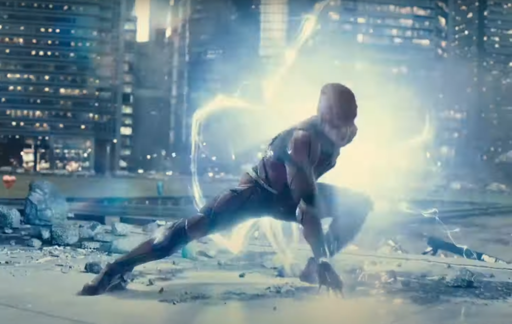 Ezra Miller as The Flash in Zack Snyder's Justice League