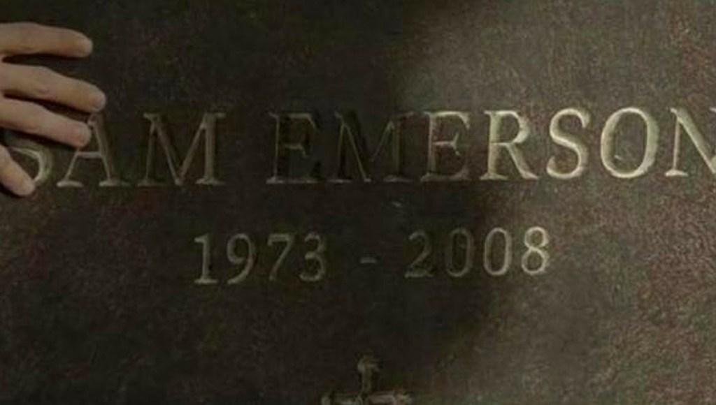 La lápida de Sam Emerson en Lost Boys: The Thirst (2010)