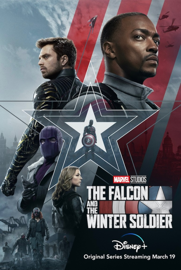Image result for the falcon and the winter soldier poster