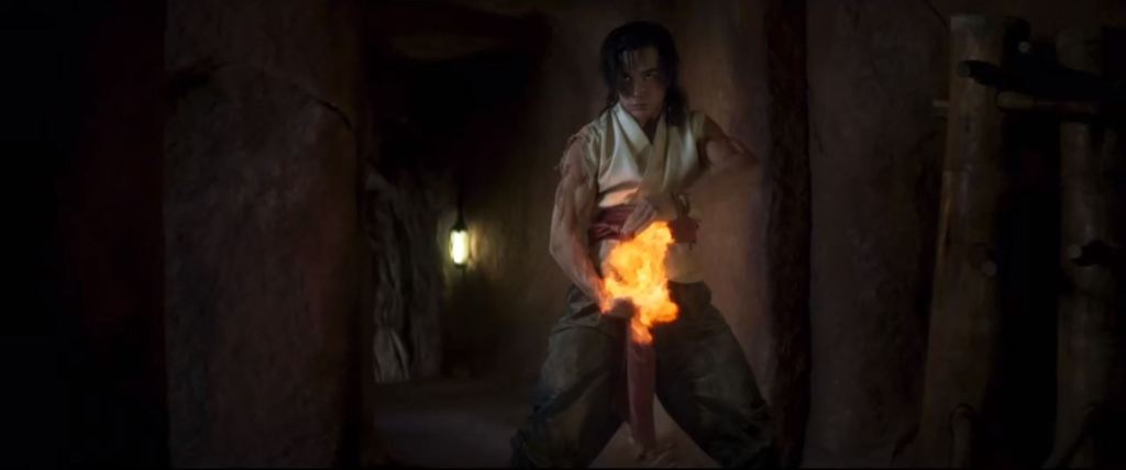 Liu Kang in Mortal Kombat