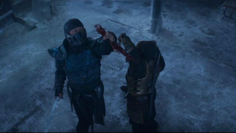 Mortal Kombat Sub-Zero vs. Scorpion