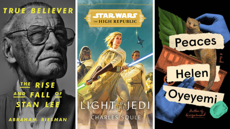 Books covers for spring 2021