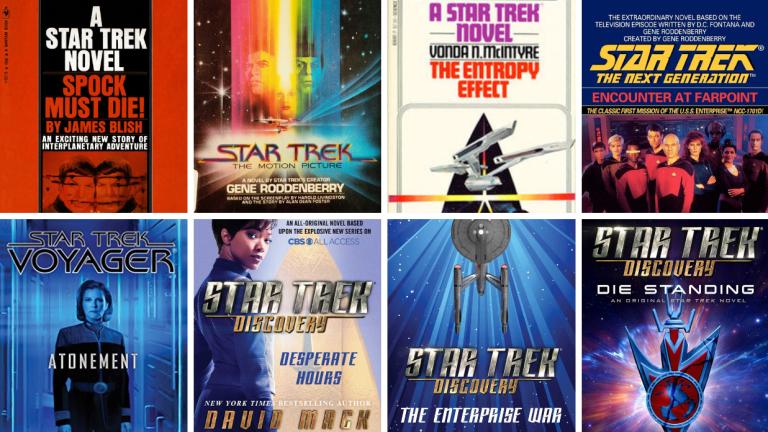 Star Trek Book Covers