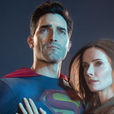 Tyler Hoechlin as Superman and Elizabeth Tulloch as Lois Lane on Superman & Lois