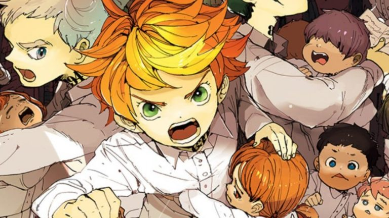 The characters from anime The Promised Neverland