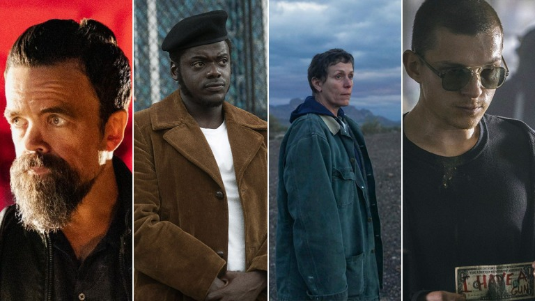 Peter Dinklage, Daniel Kaluuya, Frances McDormand, and Tom Holland in New Movies