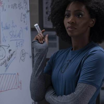 Teyonah Parris as Monica Rambeau in Marvel's WandaVision