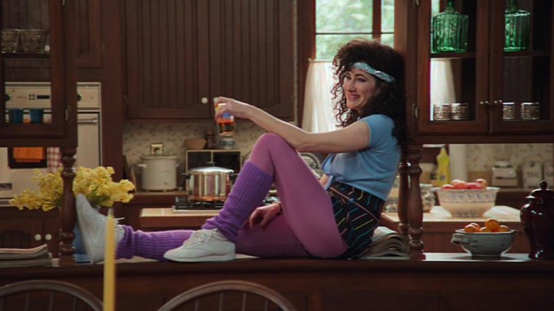 Kathryn Hahn as Agnes in WandaVision episode 5